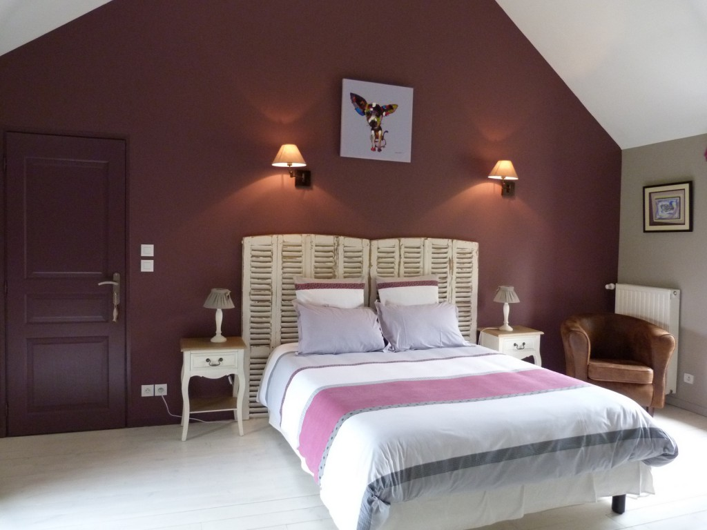 Superbe Awesome Chambre Rose Et Aubergine Pictures   House Design .